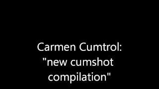 Carmen Cumtrol: new handjob compilation - watch my moves! Swallow cum