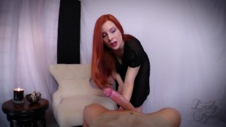 Premature Ejaculation: an Embarrassing Curse! -Lady Fyre  big ass point of view ejaculation big cock ginger redhead embarrassed mom premature milf kink pawg witch butt mother halloween2017