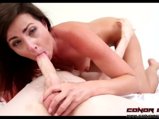 ConorCoxxx- Dirty deepthroat blowjob with Helena Price