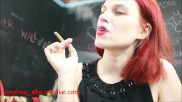 Smoking sph - andrea sky