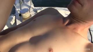 Off Shore Gang Bang Floating Sex Orgy Cumshots muscle