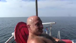 Off Shore Gang Bang Floating Sex Orgy Analized ass