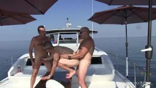 Off Shore Gang Bang Floating Sex Orgy porno