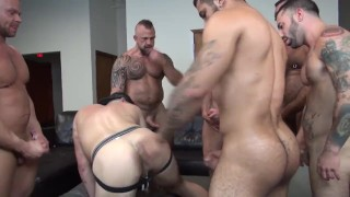 Alex's Birthday Gangbang Pov step