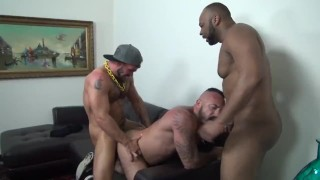Alex's Birthday Gangbang Hunk muscle
