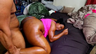 Uncontrollable Orgasms Wife Controlled by LUSH Squirting, Ass Eating Facial