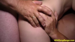 Wild anal german deepthroat queen banged extreme german