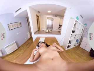 VIRTUAL TABOO – Busty Sister Gets To Know Stepbros Dick
