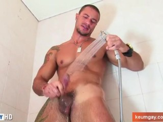 Handsome innocent straight guy's dick to taste: Victorr for our hands !
