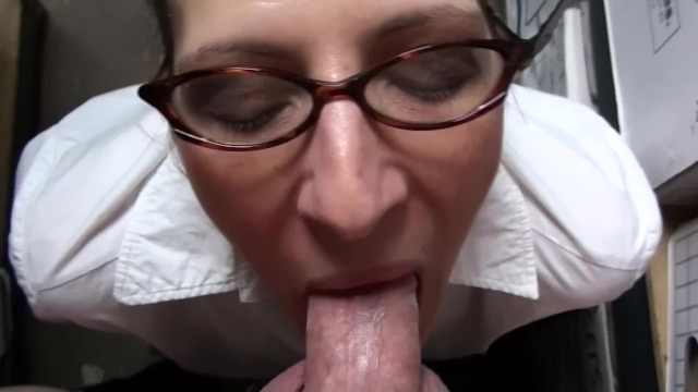 Marie Madison's File Room Facial Full Scene