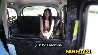 Lips lady sexy fake dick british taxi loves with pussy pierced thai point faketaxi