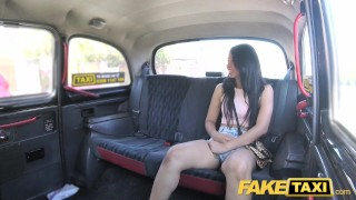 Fake Taxi Sexy Thai lady with pierced pussy lips loves British dick Fake older
