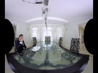 An epic sushi VR porn scene with horny geisha Katana