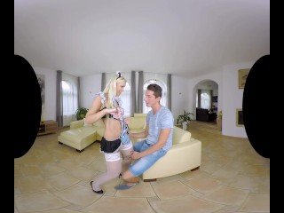 Incredible maid roleplay with VR superstar Lola Myluv