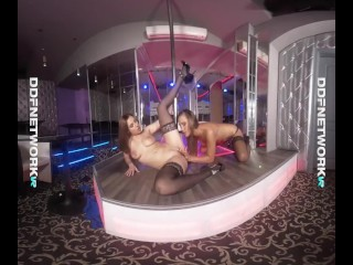 Strip-Club Honeys – Pussy Licking Pole Dancers