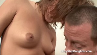 Fucking My Stepdad Before A Meeting Cock oral