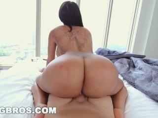 BANGBROS - Sexy MILF Lela Star Fucks Step Son Before Gym in POV