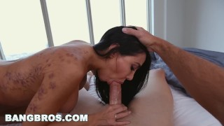 BANGBROS - Sexy MILF Lela Star Fucks Step Son Before Gym in POV Momxxx small