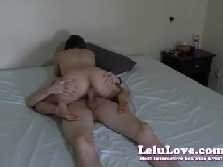 Lelu Love-Tripod Homemade Amateur Riding Creampie