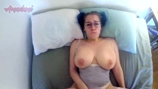 Busty babe showing off her huge tits while getting fucked Sexy big