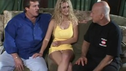 Anal Threesome For Blonde Babe Swinger