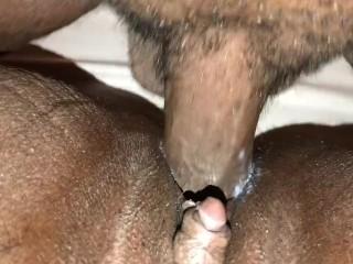 I love him fucking my big clit pussy!