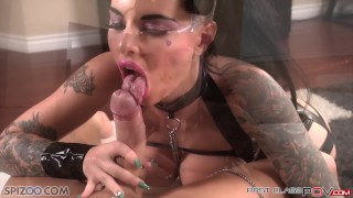 FirstClass POV - Big booty Christy Mack is fucked by a big dick, big boobs