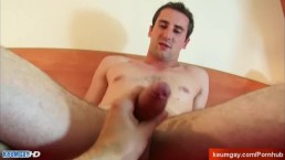 Handsome straight sport guy's dick to taste: Gyome!