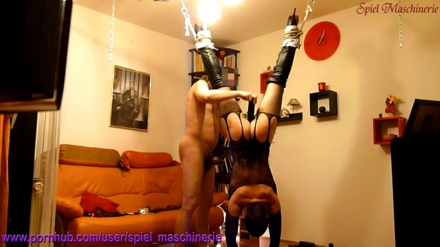 Cunt hanged whipping Helpless hanging down slut slave hard whipped rammed climax