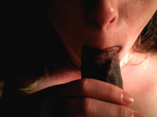 Blondie Loves Sucking My BBC & Swallowing Every Drop Of My Cum