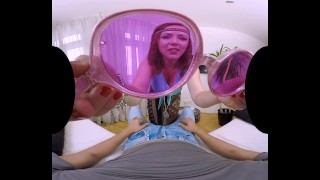 Hippie peace you love vr in with make a fox is will girl and bibi who pov doggy