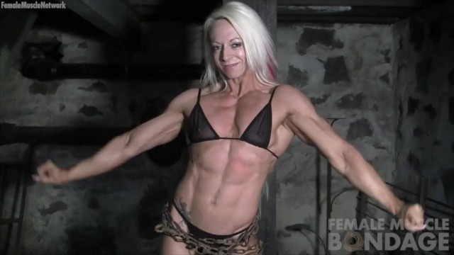 Muscle woman bondage Mature Moms TV