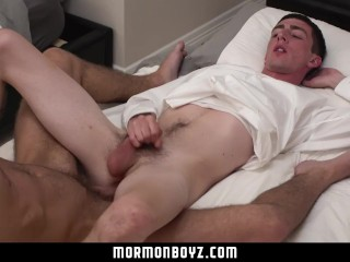 MormonBoyz-Missionary Roommates Have Secret Bareback Sex