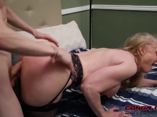 Naked Sister Stories Conorcoxxx-Hardly Studying With Nina Hartley, Big Dick Blonde Blowjob Fetish Ha