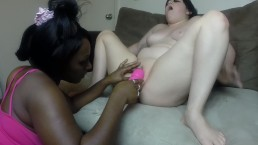 Goth Girl & Ghetto Bitch....... Interracial Lesbian Orgasm