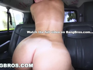 Preview 6 of BANGBROS - Using Virgin Geek To Get Dat Azz From Jasmine Vega on Bang Bus!