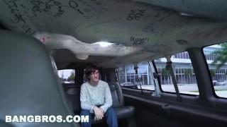 BANGBROS - Using Virgin Geek To Get Dat Azz From Jasmine Vega on Bang Bus!