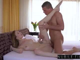 Brother Blindfolded & Fucked By means of Busty Tiny Sister