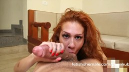 TS Gabriella Ferrari Is a Blowjob Expert