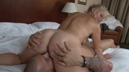 Cougar Hunts Down Her Son's Friend's Cock