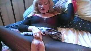 Filthy grandmother dps herself penetration canada
