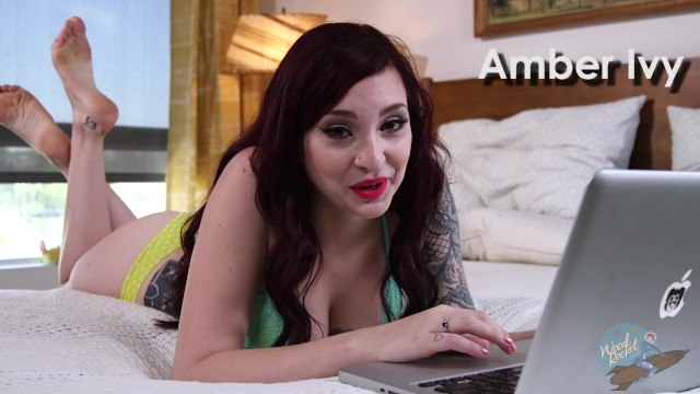 Porn Star Amber Ivy Watches Her Own Porn