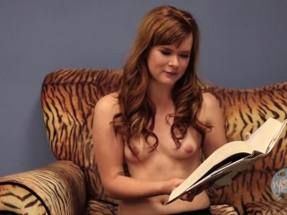 Topless Girls Reading Books: Jane Austen