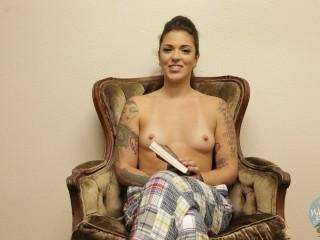 Topless Girls Reading: Bitten