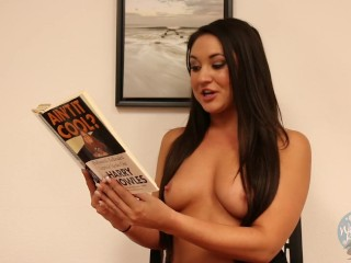 Topless Girls Reading: Ain't It Cool