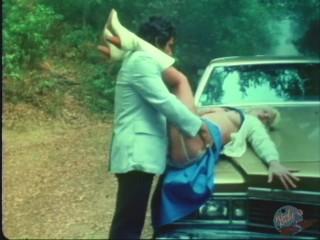 Ron Jeremy deep-dicks blonde on his car