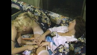 Young blonde housewife gets cocky