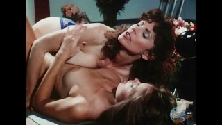 Older lesbian eats sexy young lesbian's pussy