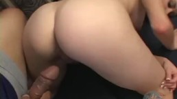 WATCH HER HAIRY ASSHOLE GET POUNDED