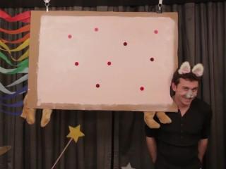 """James Deen as """"Nyan Cat"""""""